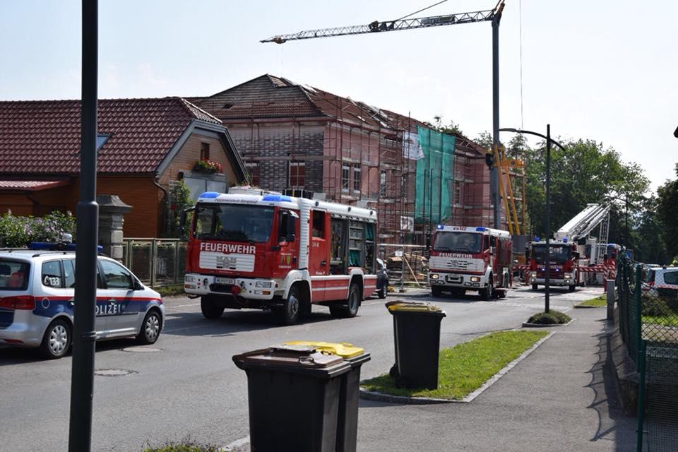 Schwellbrand Volksschule