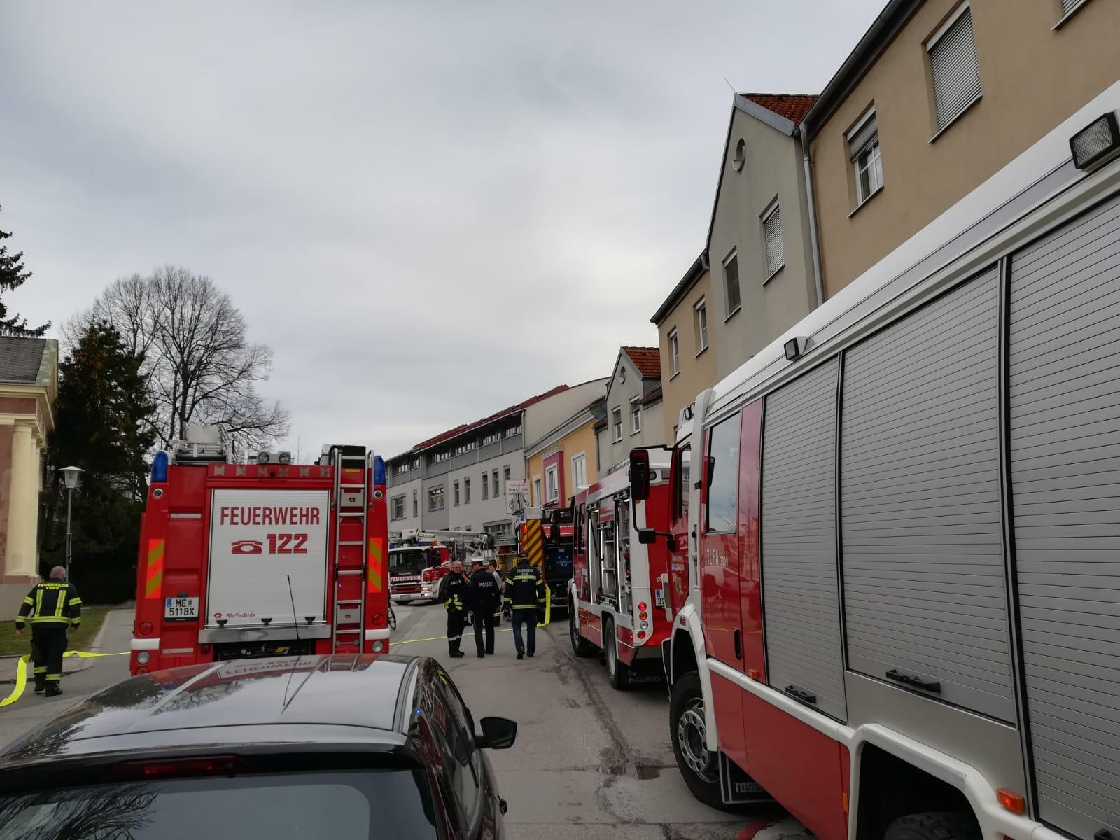 Wohnungsbrand in Ybbs