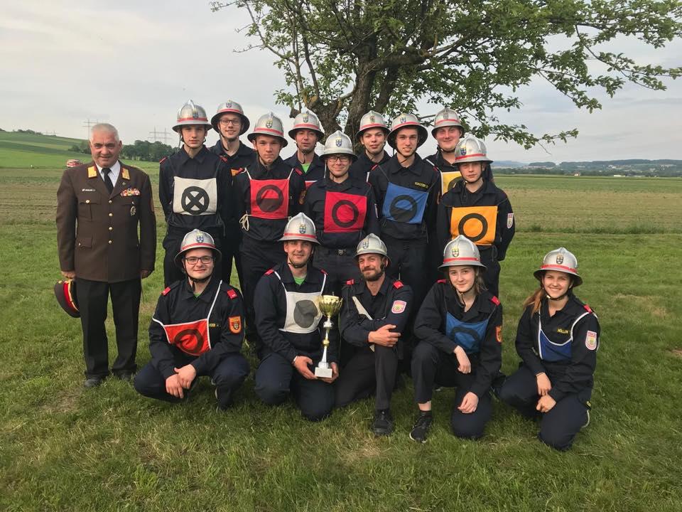 Feuerwehrjugend und aktive Mannschaft erfolgreich am Abschnittsbewerb Ybbs