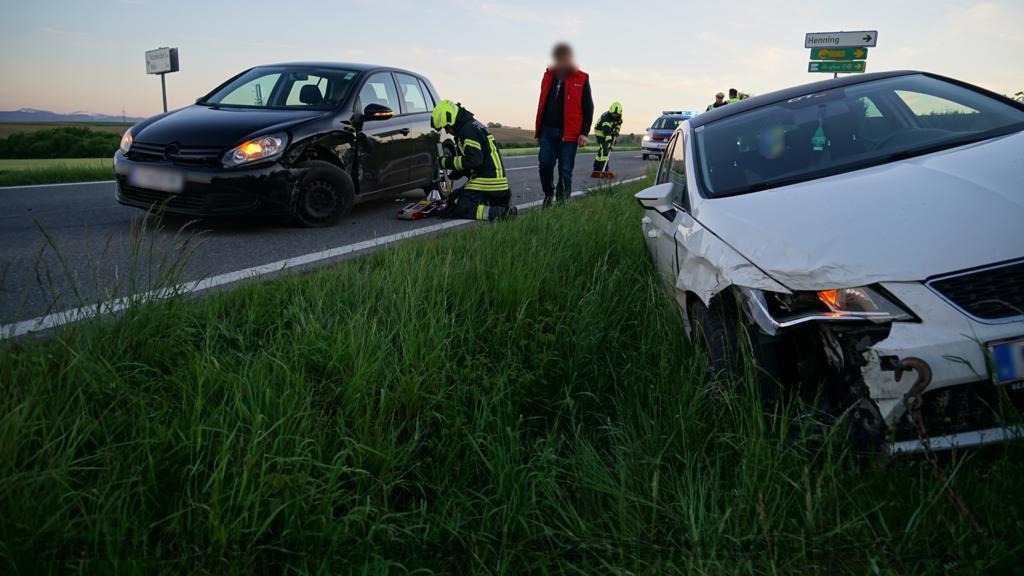 Verkehrsunfall in Kolm