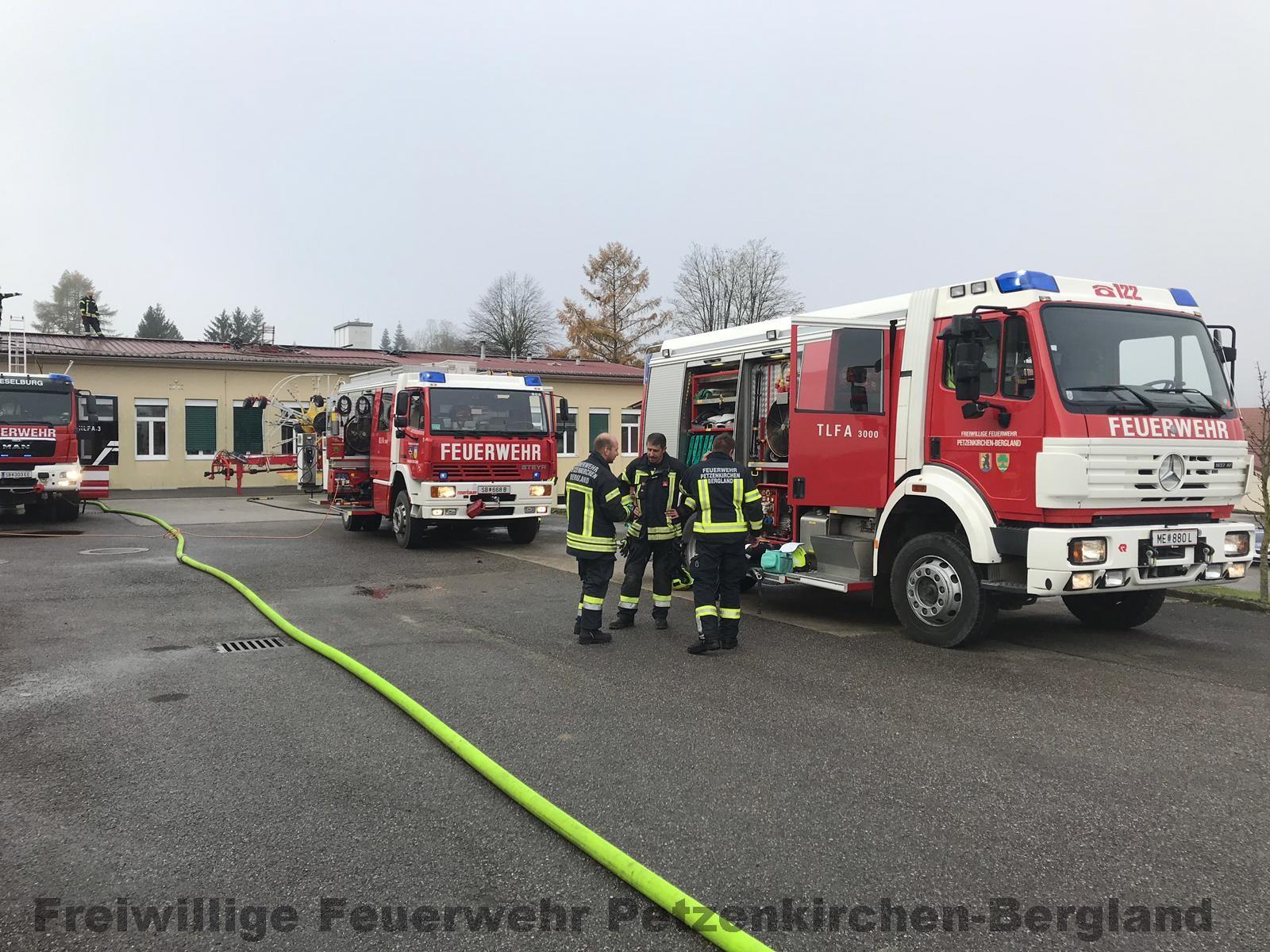 Brand in Wieselburg