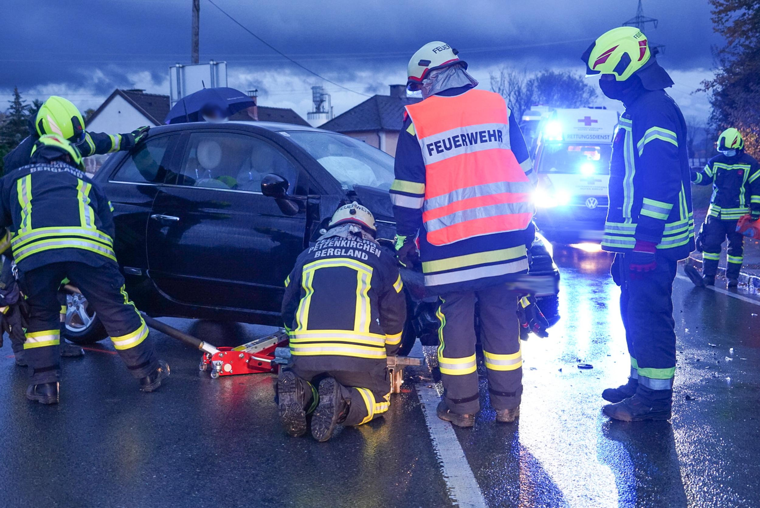 Verkehrsunfall in der Annenheimkurve L96