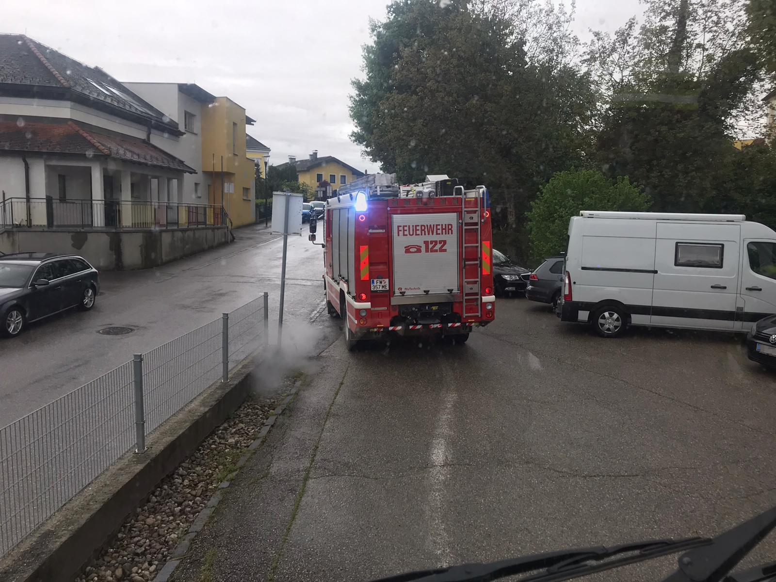 LKW-Bergung in Petzenkirchen