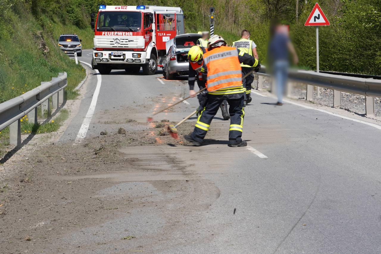 Verkehrsunfall auf der L96