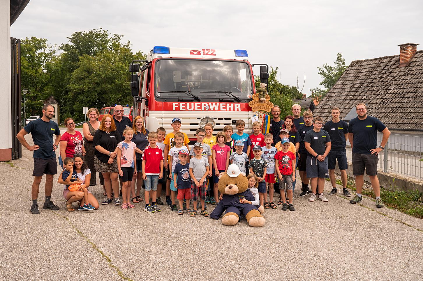 Actionreiches Ferienprogramm der Feuerwehr